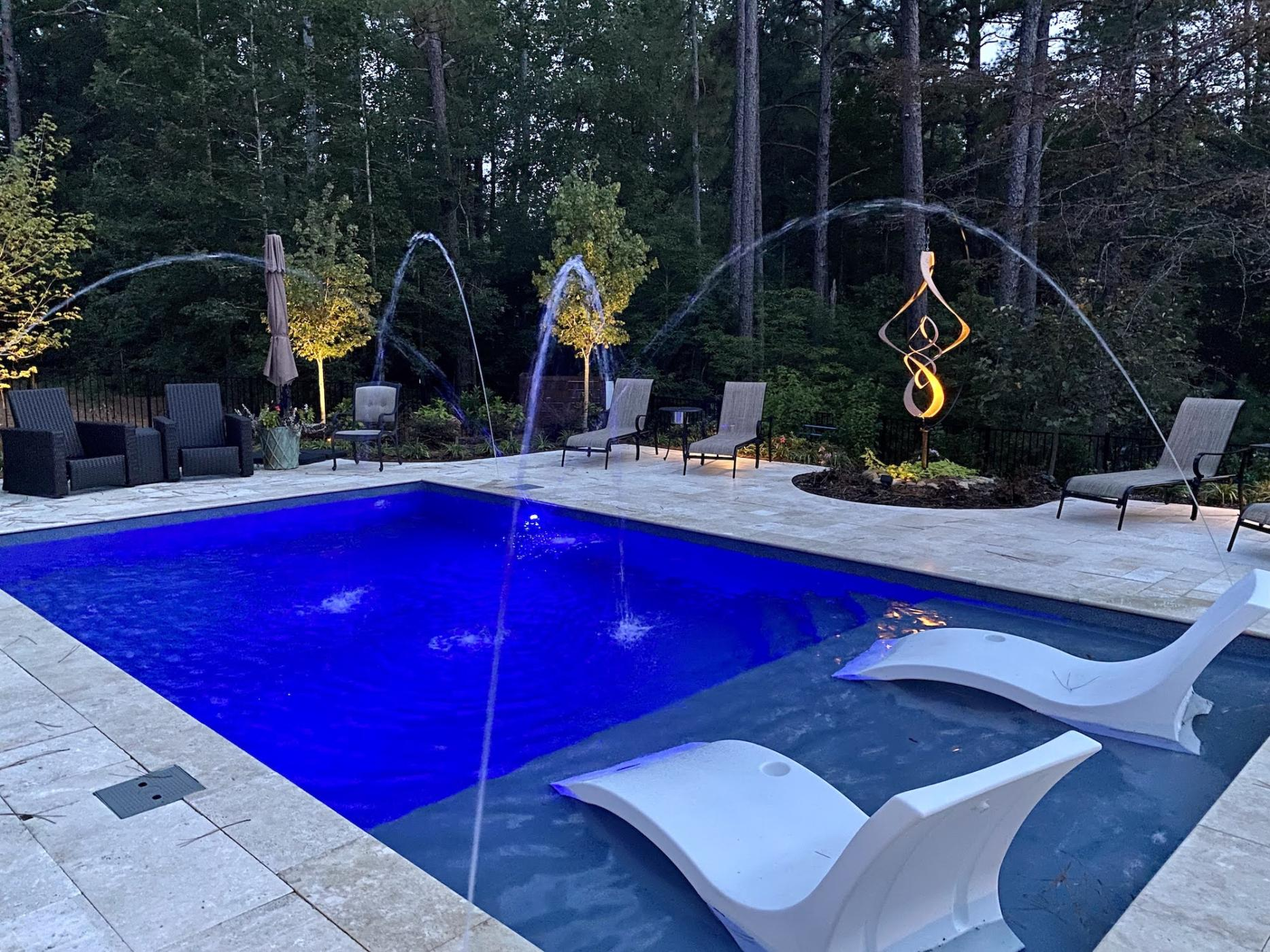 Luxury Pools Pinehurst